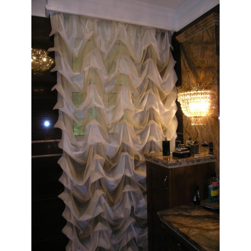 dekoracje okien do �azienki firany �azienkowe rolety do