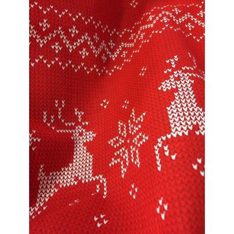 tkaniny świąteczne