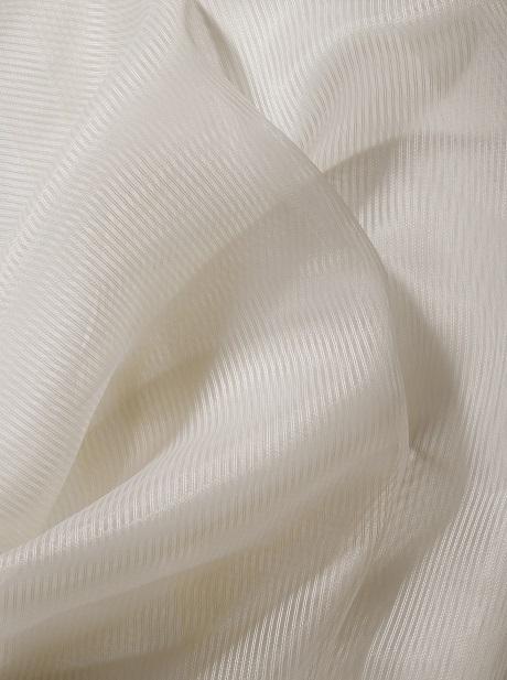 firanka niepalna woal hotelowa FR kolor waniliowy