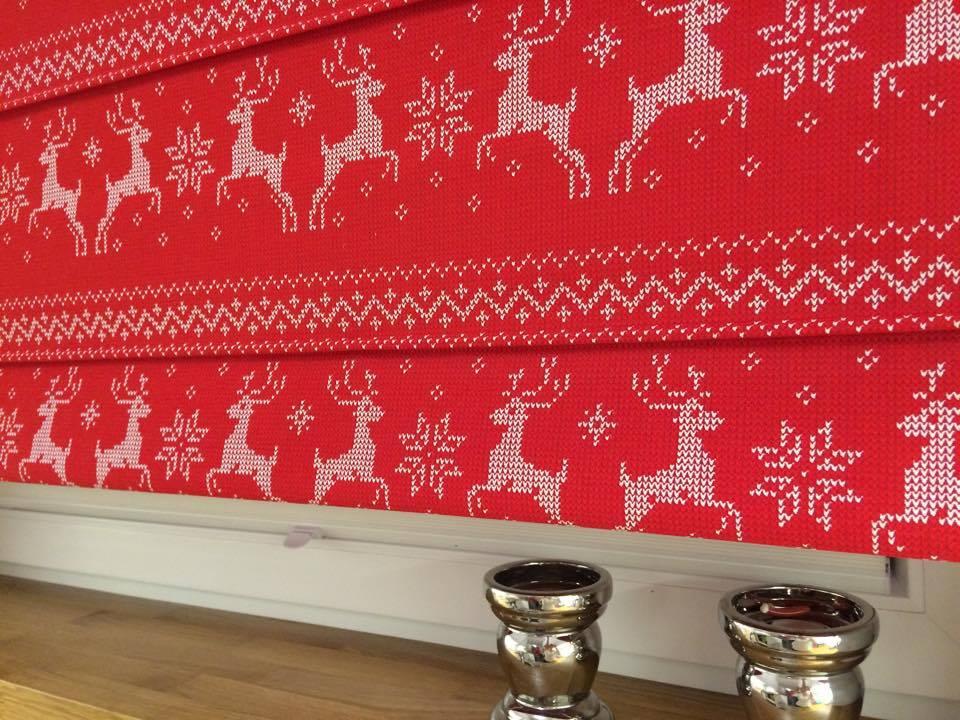 świąteczne Tkaniny W Białymstoku Zasłonki Rolety świąteczne